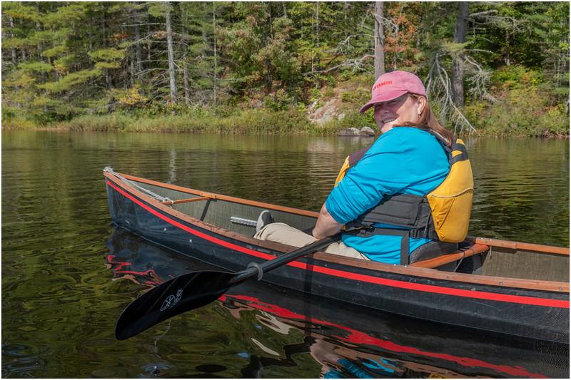 Adirondacks Bog River Paddle HBL 6 Kim September 2019