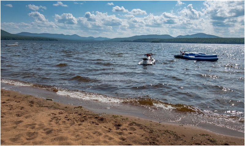 Adirondacks Upper Chateaugay Lake 1 August 2019