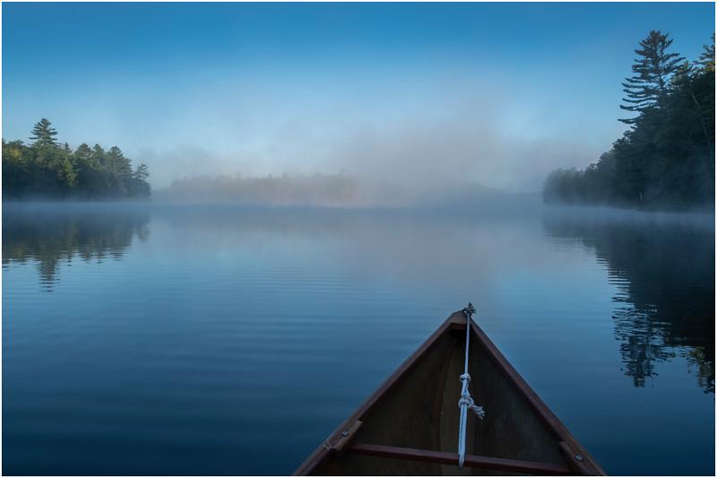 Adirondacks Rollins Pond Morning 10 August 2019