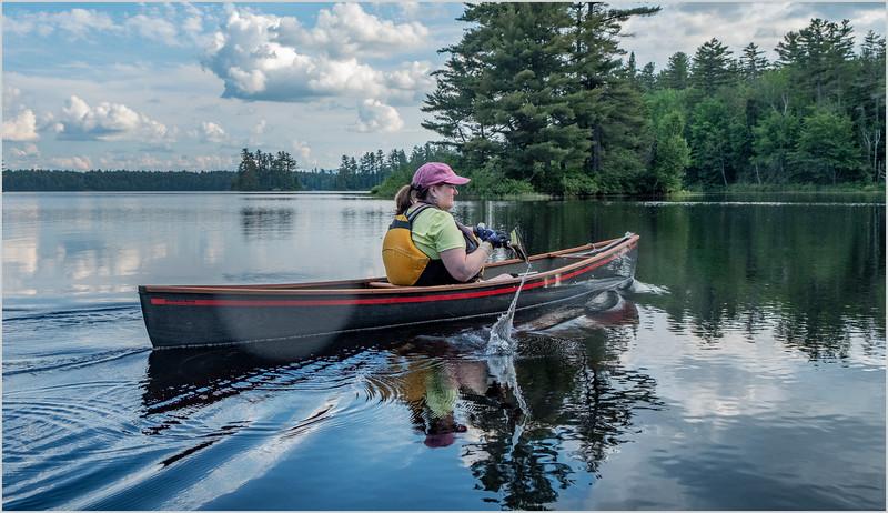 Adirondacks Rollins Pond Kim 18 July 2019