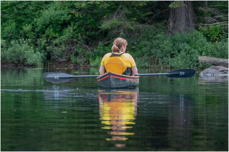 Adirondacks Bog River Morning 2 July 2019