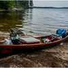 Adirondacks Round Lake Whitney Wilderness My 12' Low, loaded July 2016