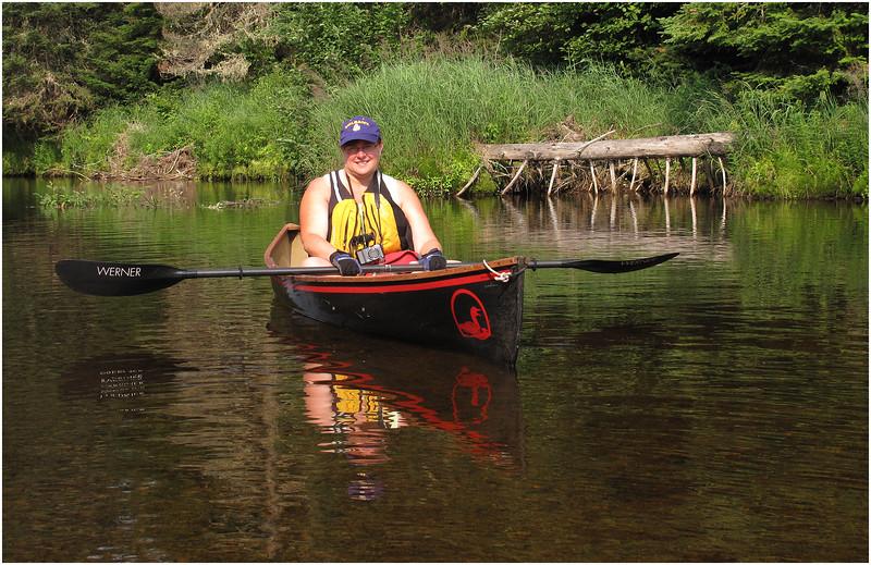 Adirondacks Cedar River Flow Kim Difting East Inlet  July  2011