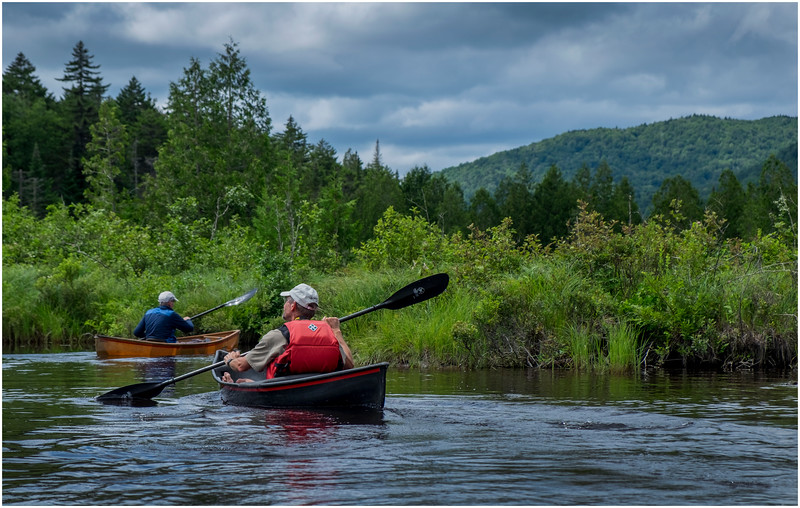 Adirondacks Newcomb Lake Paddling Newcomb River 3 July 2017