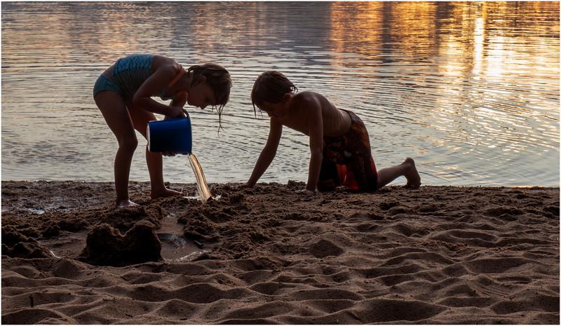 Adirondacks Rollins Pond Evening 15 August 2019