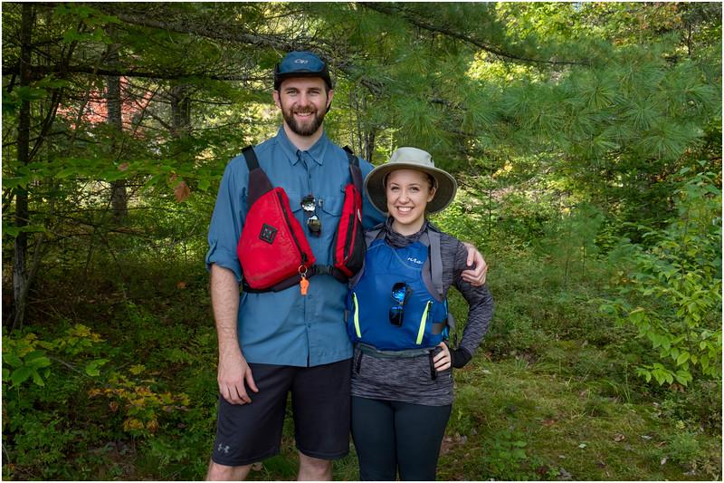 Adirondacks Bog River Patrick and Cassie 2 September 2019
