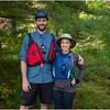 Adirondacks Bog River Patrick and Cassie 2 September 2019