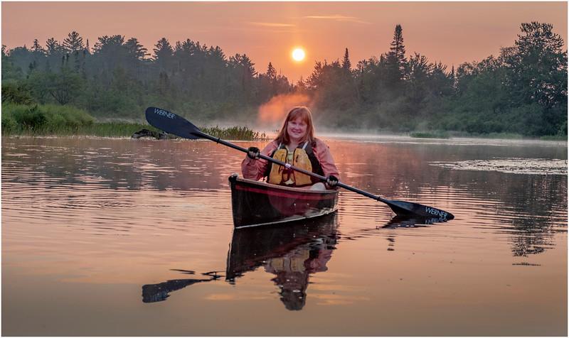 Adirondacks Round Lake Morning 6 August 2019