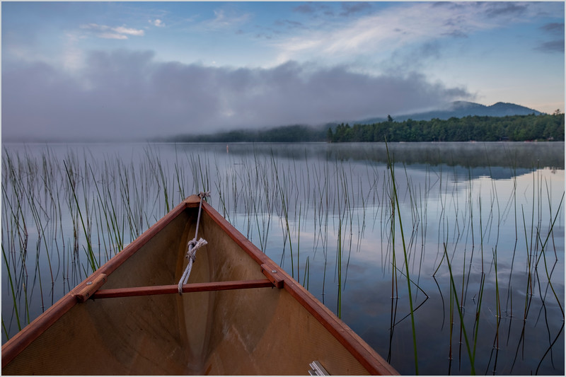 Adirondacks Lake Eaton Morning 1 July 2019