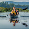 Adirondacks Forked Lake Kim Paddling 2 August 2016