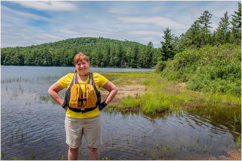 Adirondacks Grampus Lake 3 Kim July 2019