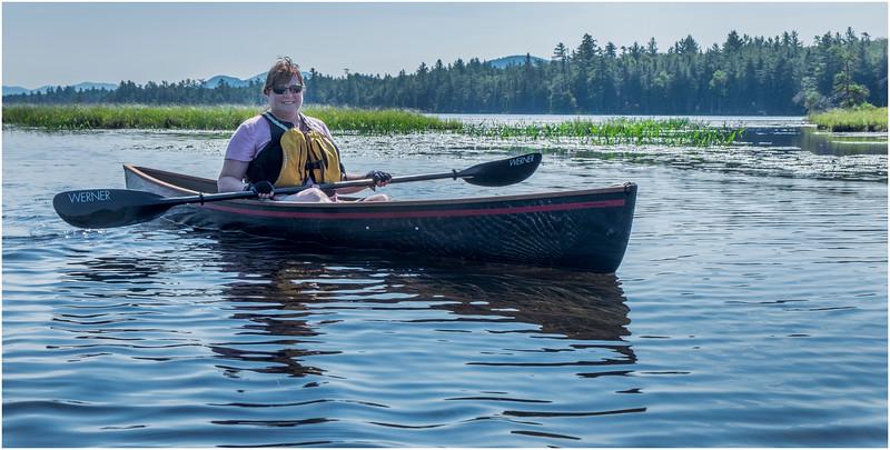 Adirondacks Forked Lake Jenna Kim into the Wetlands 6 July 2017