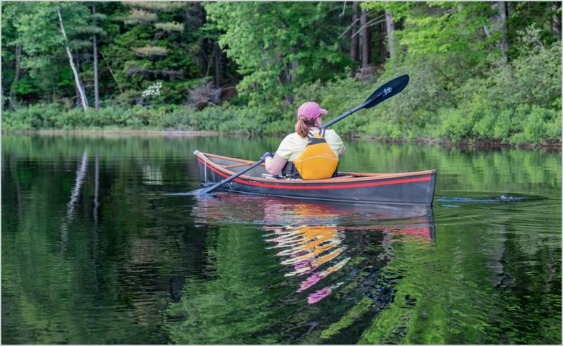 Adirondacks Rollins Pond Kim 17 July 2019