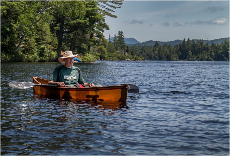 Adirondacks Forked Lake July 2015 Bill McKibben