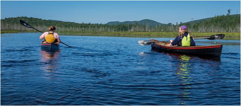Adirondacks Forked Lake Jenna Kim into the Wetlands 4 July 2017