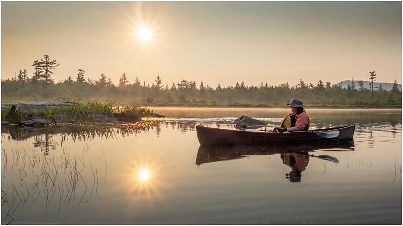 Adirondacks Round Lake Morning 23 August 2019