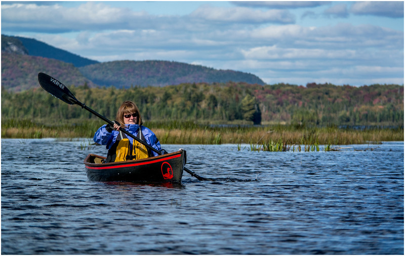 Adirondacks Cedar River Flow Kim Paddling 1 September 24 2016
