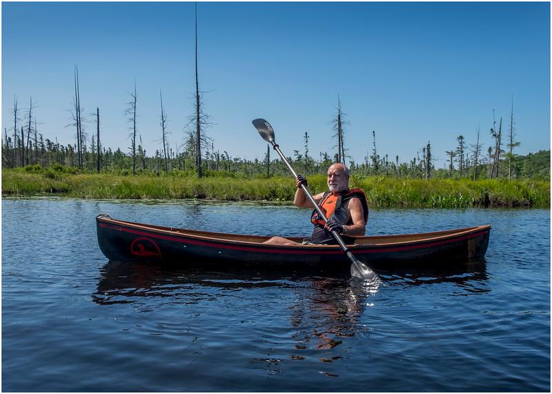 Adirondacks Forked Lake Jenna Kim into the Wetlands 12 July 2017