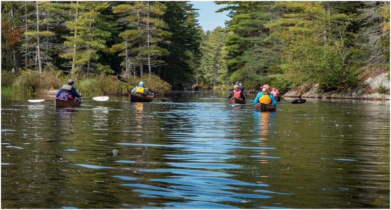 Adirondacks Bog River Paddle HBL 1 September 2019
