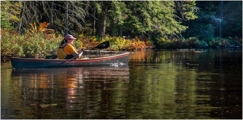 Adirondacks Nicks Lake 16 September 2019