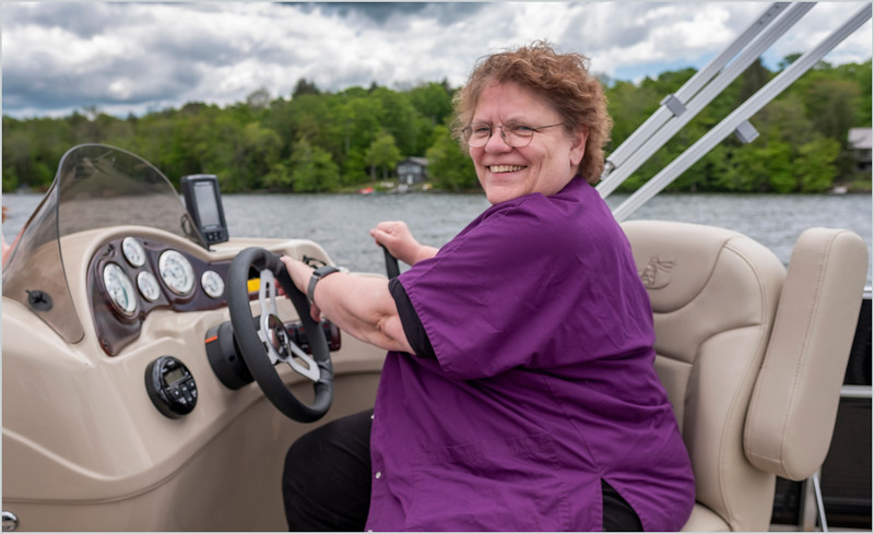 Adirondacks Peck Lake Sue Phillips May 2019