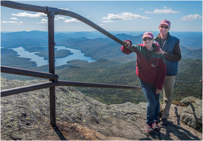 Adirondacks Whiteface Mt  Todd and Jen 2 September 2019