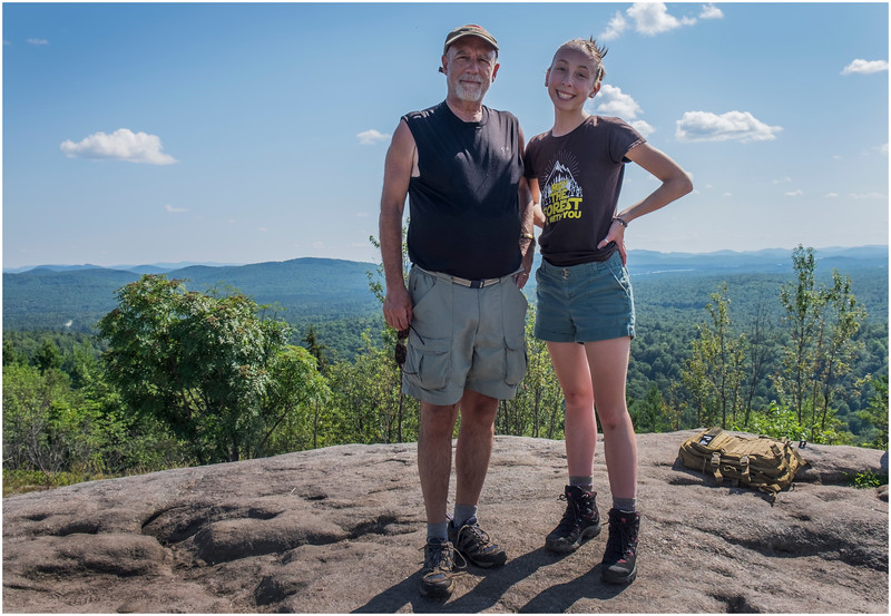 Adirondacks Coney Mountain Tom Jenna 3 July 2017