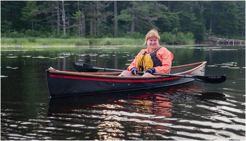Adirondacks Bog River Morning 8 July 2019