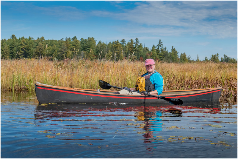 Adirondacks Bog River Paddle HBL 8 Kim September 2019