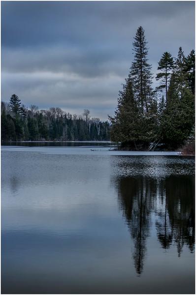 Adirondacks Lake Abenakee 13 December 2016