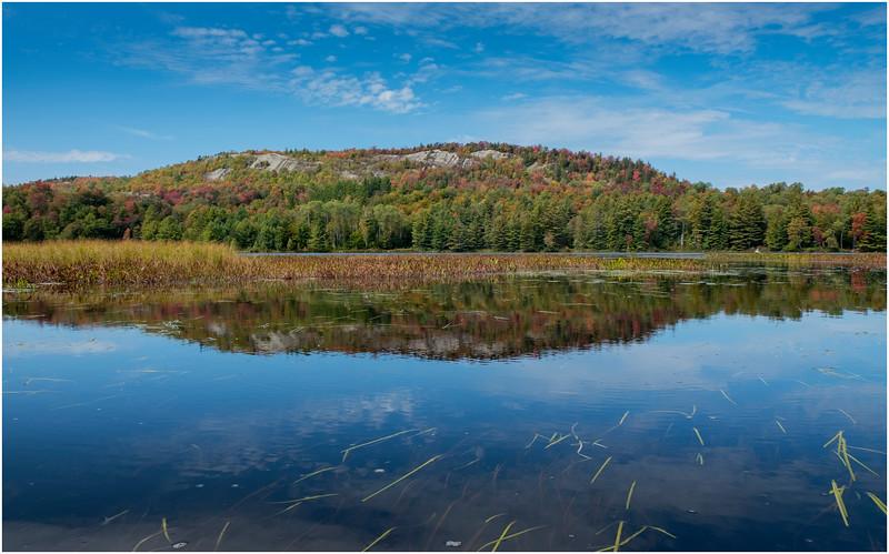Adirondacks Bog River Hitchins Pond Lows Ridge 23 September 2019