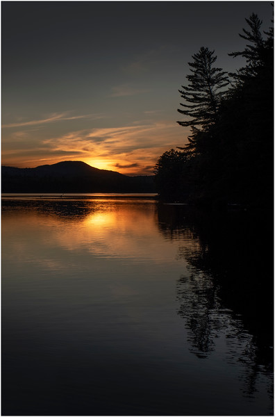 Adirondacks Rollins Pond Evening 49 August 2019