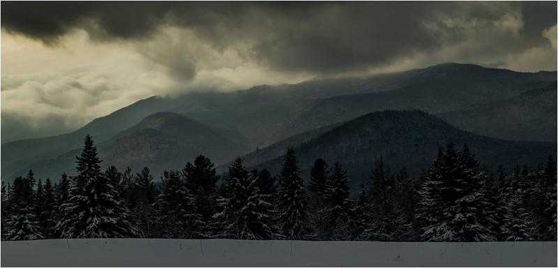 Adirondacks North Elba Mountain Clouds 3 January 2018