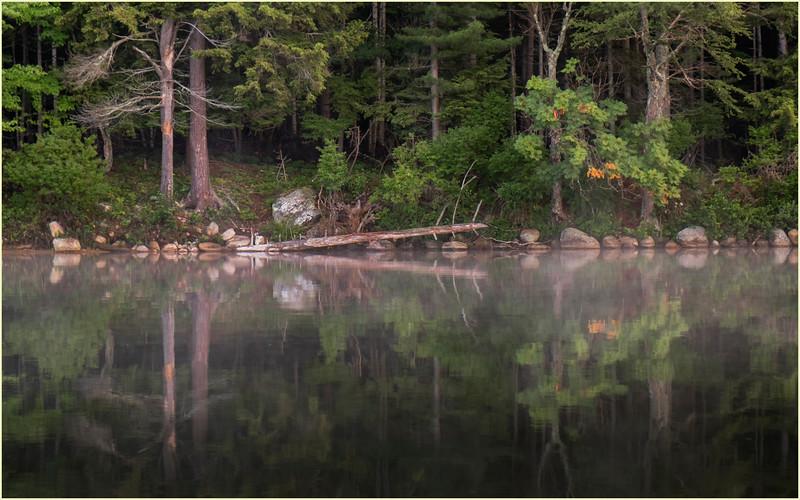 Adirondacks Lake Eaton Morning 25 July 2019