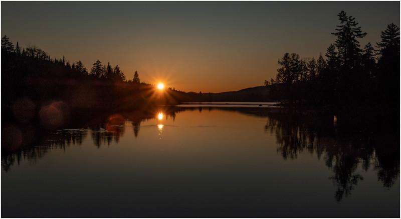 Adirondacks Forked Lake Sunset 5 October 2019