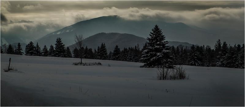 Adirondacks North Elba Mountain Clouds 2 January 2018