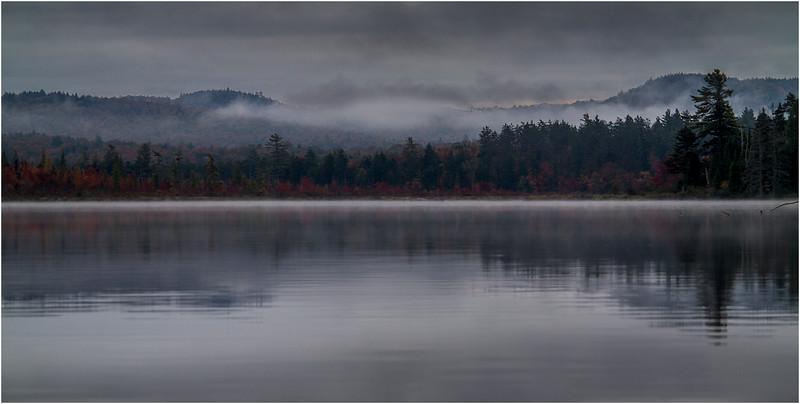 Adirondacks Whitney Wilderness Round Lake Color Shoreline 5 September 2013