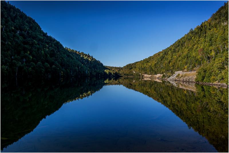 Adirondacks Upper Cascade Lake September 2015 Contrast View 1