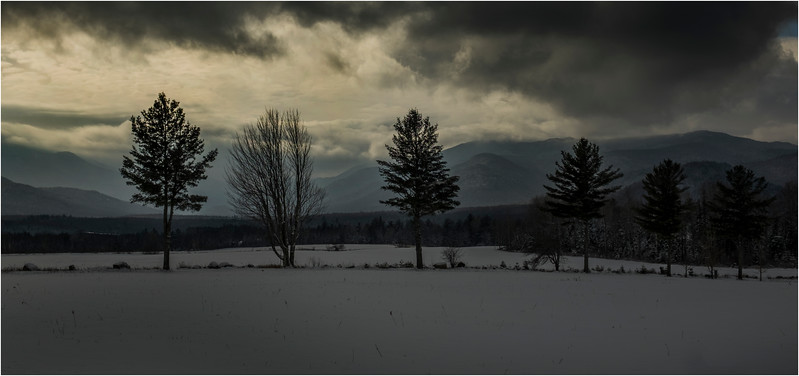 Adirondacks North Elba Mountain Clouds 5 January 2018