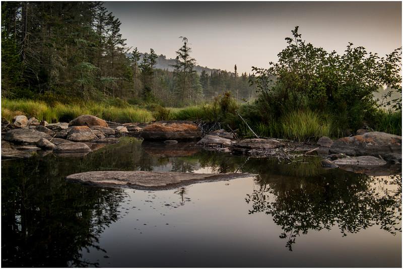 Adirondacks Forked Lake Morning Light 7 August 2016
