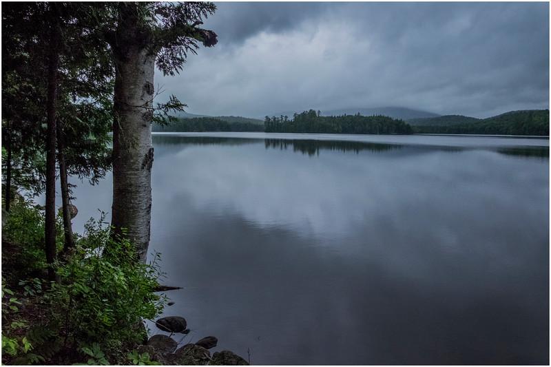 Adirondacks Newcomb Lake Lake View 3 July 2017