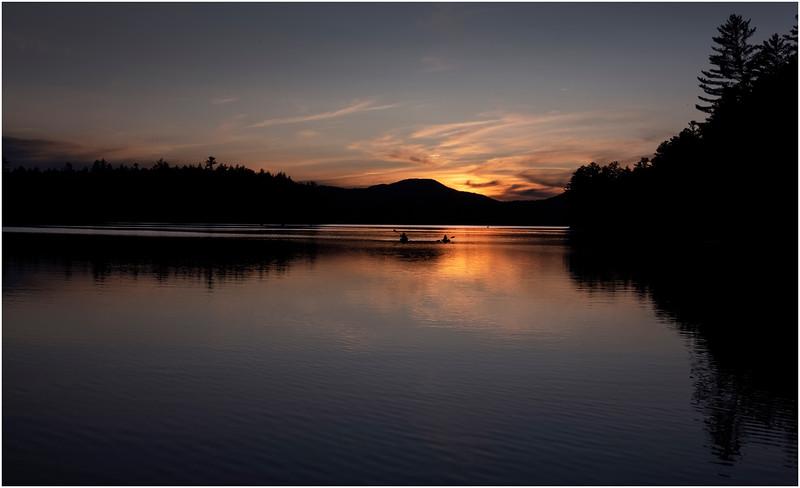 Adirondacks Rollins Pond Evening 52 August 2019