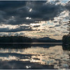 Adirondacks Rollins Pond Evening 1 August 2019