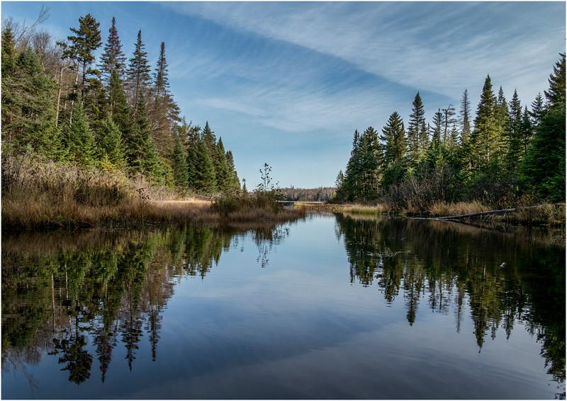 Adirondacks Cedar River Flow Northwest Bay Inlet October 2012