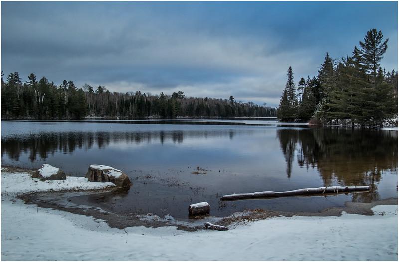 Adirondacks Lake Abenakee 1 December 2016