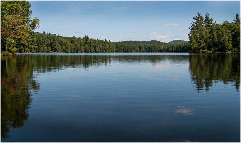 Adirondacks St Regis Long Pond 1 July 2009