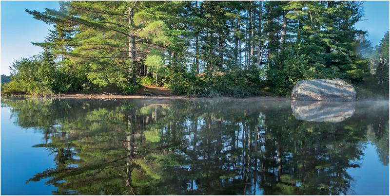 Adirondacks Rollins Pond Morning 30 August 2019