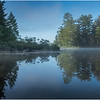 Adirondacks Rollins Pond Morning 31 August 2019