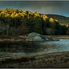 Adirondacks Warrensburgh November 2015 Hudson River from River Road Morning Light 1