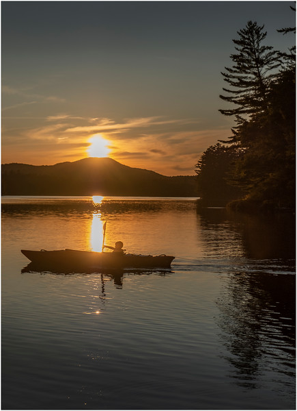Adirondacks Rollins Pond Evening 35 August 2019